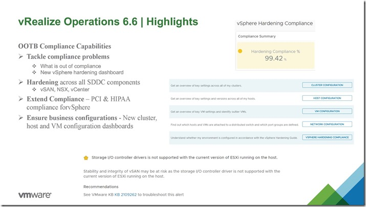 vRealize Operations 6.6