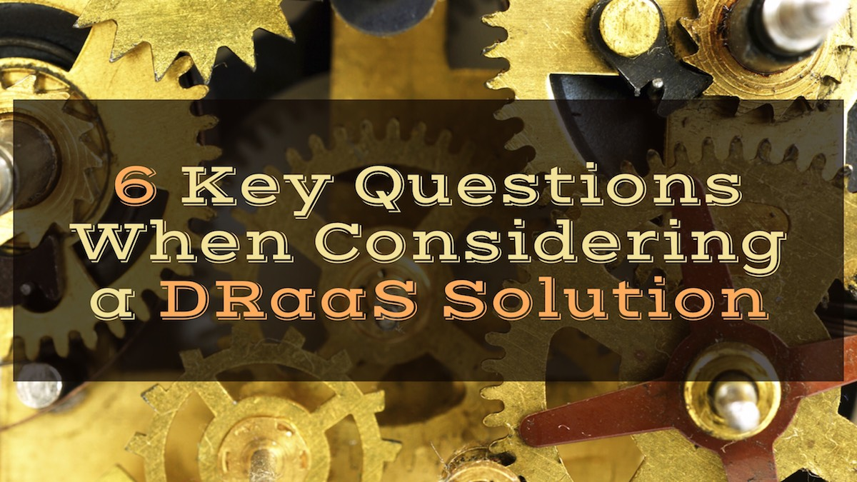 DRaaS Solution